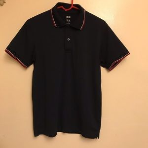 Men's Uniqlo shorts sleeve polo shirt